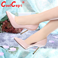 CooLcept Free Shipping Half Ankle Short Natrual Genuine Leather High