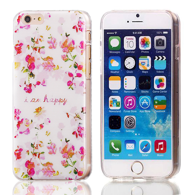 """Cute Owl Tower Floral Pattern Cartoon Soft TPU Silicone Case For Apple iphone 6 6S iphone6 4.7"""" ShockProof Back Protective Cover(China (Mainland))"""