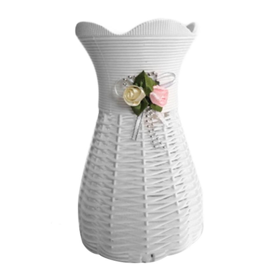 online kaufen gro handel kleine wei e vasen aus china. Black Bedroom Furniture Sets. Home Design Ideas