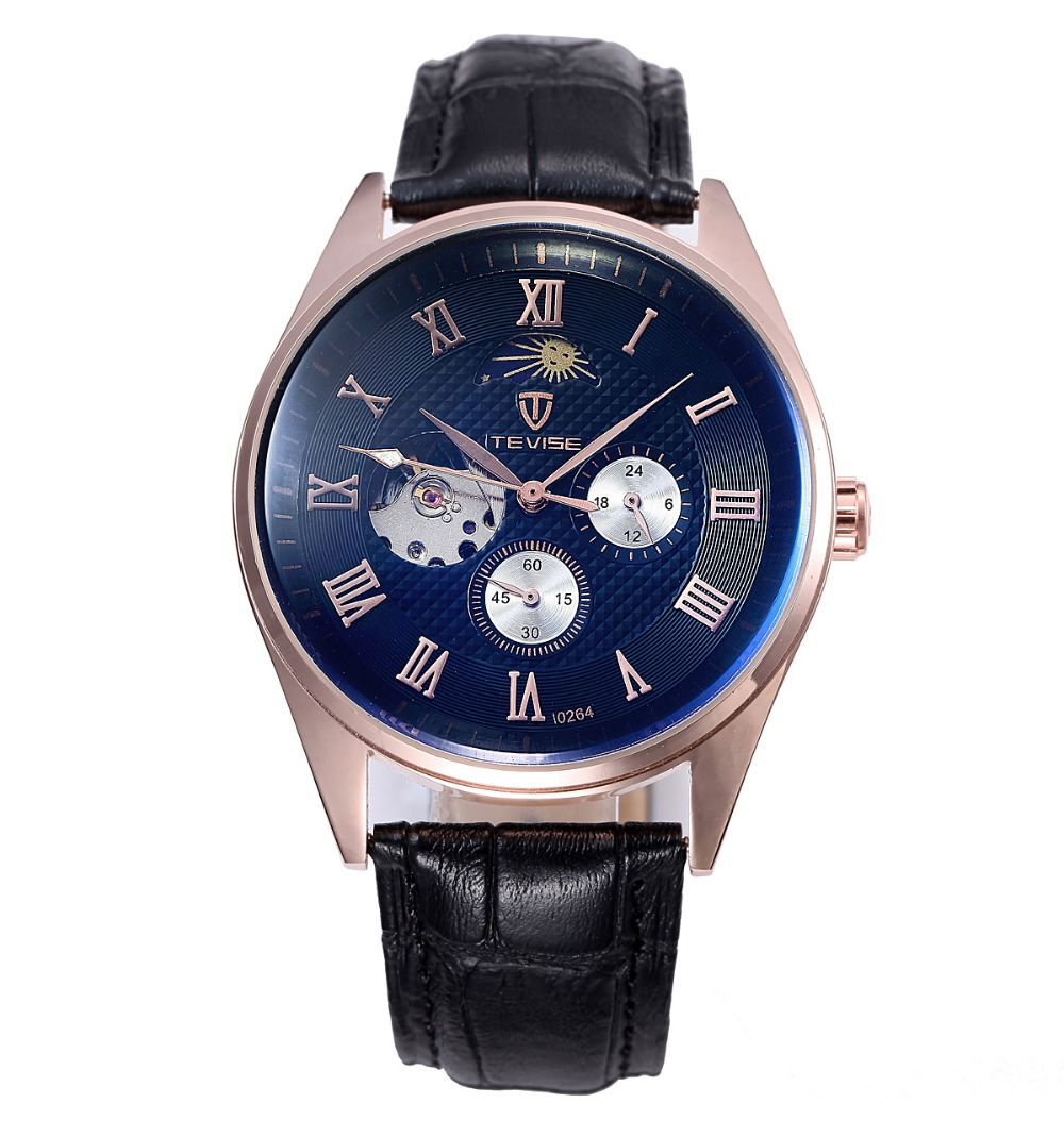 tevise automatic mechanical watches genuine