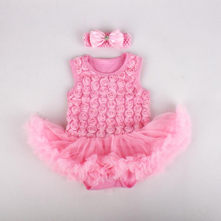 Compre menina bodysuits tutu de tule vestido de 1 kikikids crian as bebe rec m - Faire un tutu pour adulte ...