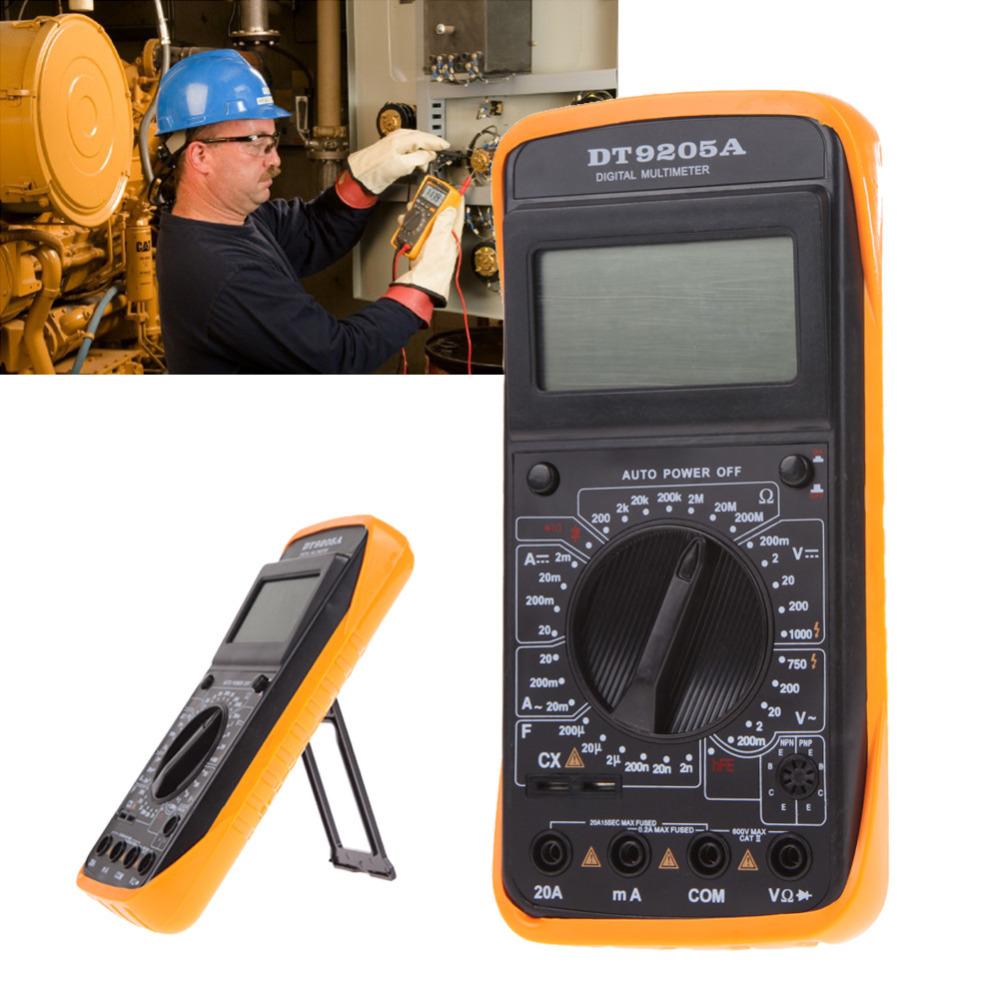 2015 New uni t Digital Multimeters for DT 9205ALCD Display Professional Handheld Tester Digital Multimeter