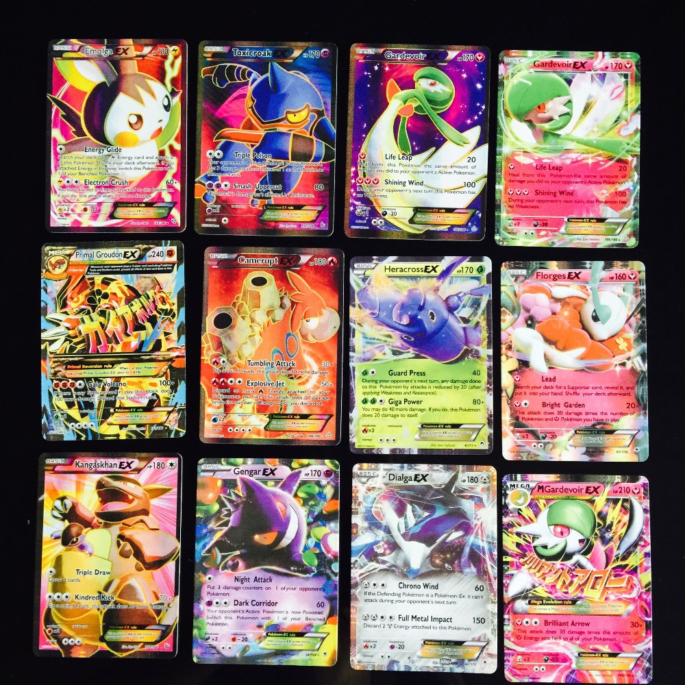New Mega EX Pokemon ca...