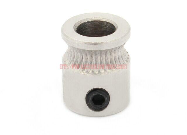 5Pcs extruder mk8 Drive Gear for 1 75mm 3mm 3D Printer Filament Extruder Pulley 5mm Shaft