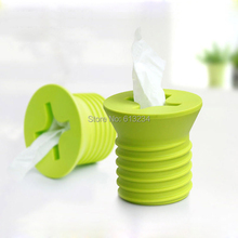 Free Shipping 4 Pieces Giant Screw Tissue Roll Holder Box Cover Toilet Paper Dispenser(China (Mainland))