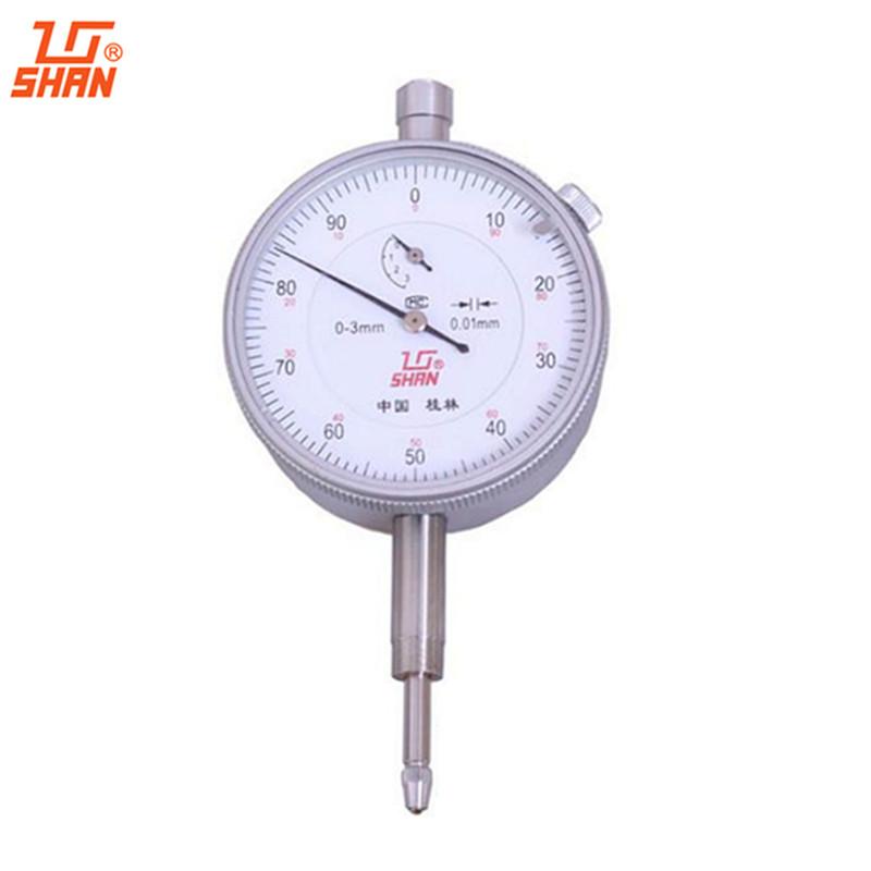 0-3mm/0.01mm dial indicator dial gauge dial test indicator reloj comparador gauging tools ferramentas