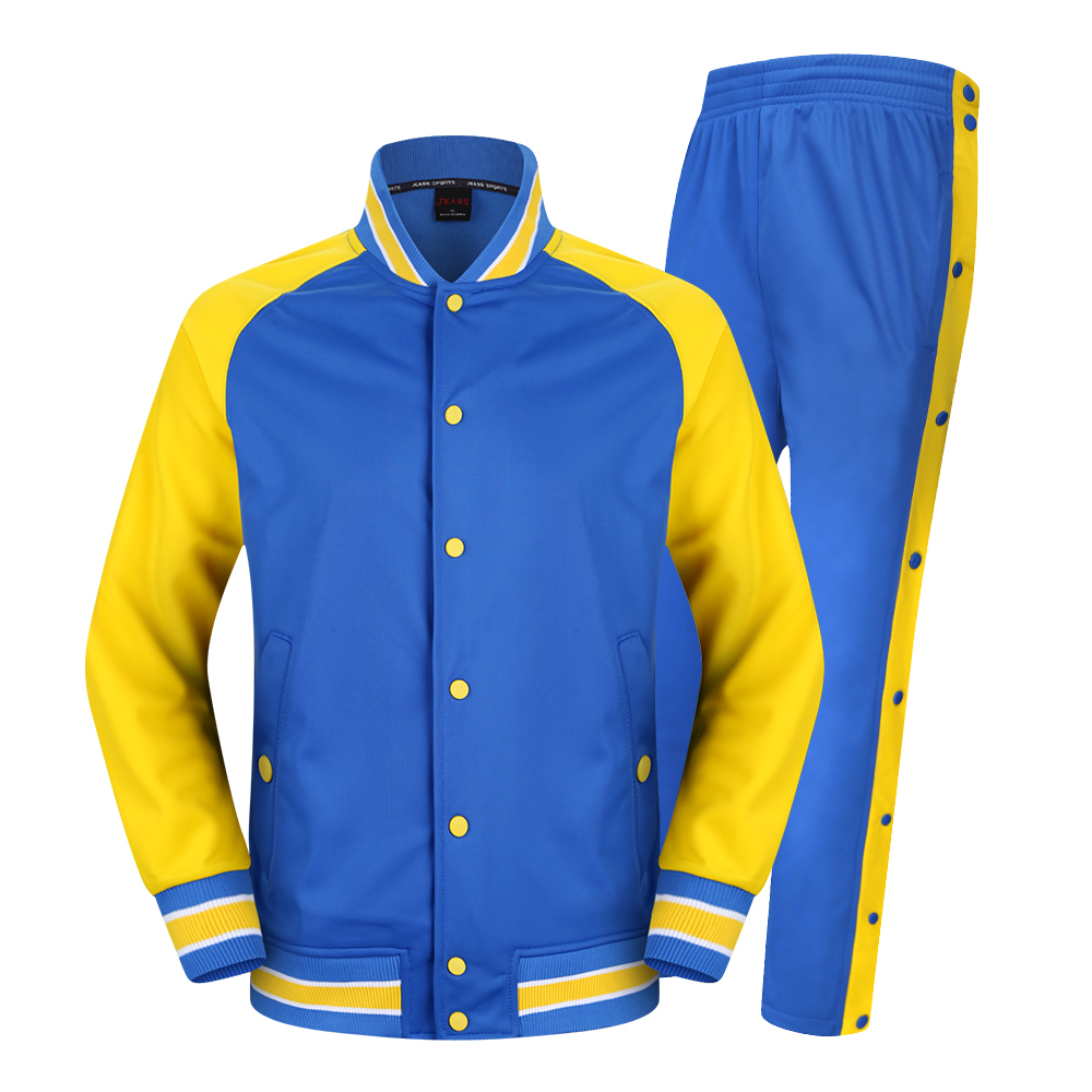 2016 Free Shipping Basketball Jacket Team School Uniform Suit Training Clothes Casual Sweater Patchwork 3 Colors(China (Mainland))