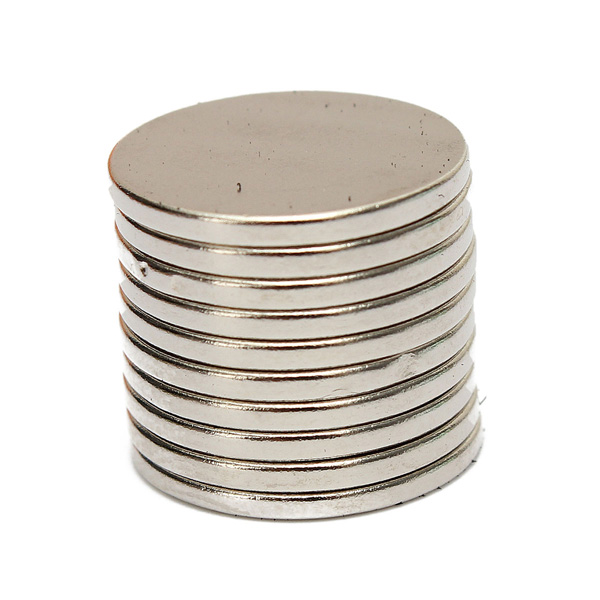 High Quality 10pcs 15mm x 1.5mm N50 Strong Small Round Disc Rare Earth Neodymium Magnets(China (Mainland))