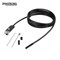2016 New 5 5mm Lens 2M USB Endoscope IP67 Waterproof Camera Andorid Endoscope 6 LED Mini