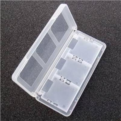 6 in1 Game Card Case Storage Box for Nintendo DS Lite NDSL NDS 3DS 3DSXL 100PCS(China (Mainland))