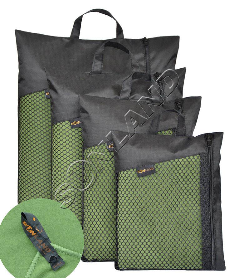 3PCS 61cmx122cm Microfiber Fast Drying Travel Sports Camping Swim Hand Face Beach Bath body Towel w/Carrying Bag/hook(China (Mainland))