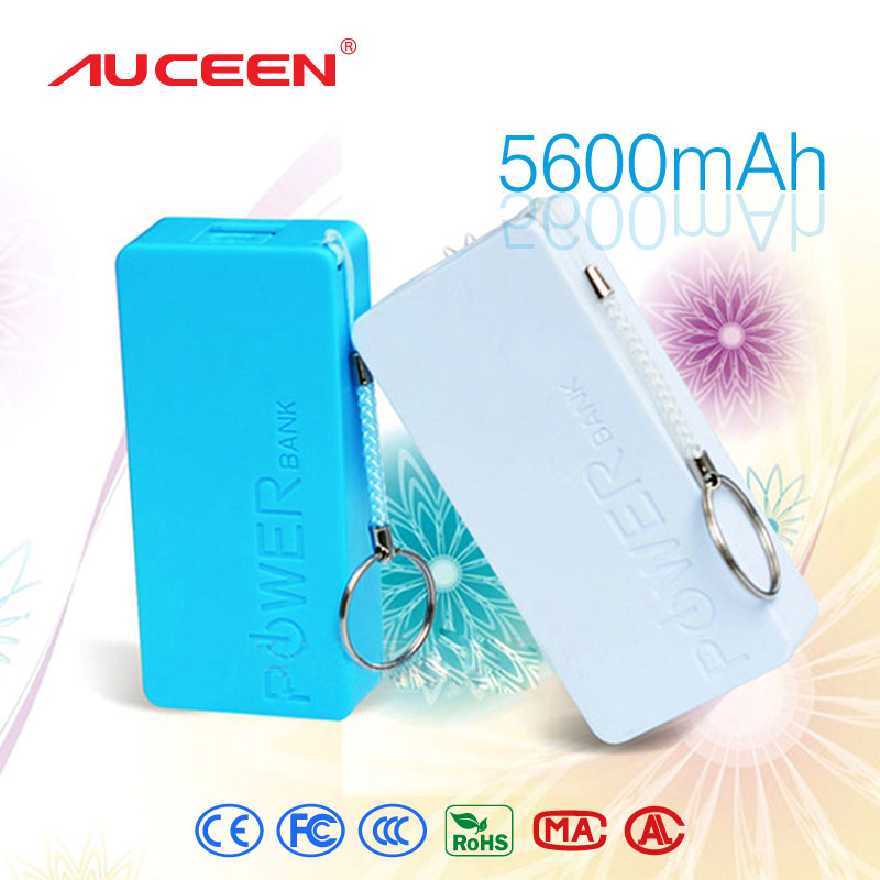 Auceen Real 5600mAh perfume mini Power Bank universal USB Portable Rechargeable External Backup Battery for mobile phones tablet(China (Mainland))