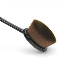 Oval Makeup Brush Set Cosmetic Foundation Cream Powder Blush Make Up Brushes Tool Facial Cleaning Tools Maquiagem Free Shipping