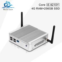 Горячие на продажу X30-4210Y HD 4000 1.6 Г ГЦ 4 Г RAM 256 Г SSD КОМПЬЮТЕРНЫЕ Игры Barebone Мини-ПК с 12*12 материнская плата
