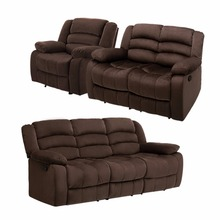 LANGRIA 1 set 6 Manual Recliner Sofa Chair with Pillow Top Backrest, Armrests and Elevating Footrest 330 lbs Capacity(China (Mainland))