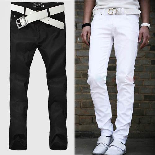 Slim White Pants