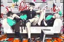 Tokyo Ghoul 32—2016 Hot sale Japanese Anime Home Decor Horizontal Version Scroll Paintings Art Canvas Wall Picture