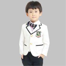 2015 neuankömmling hight qualität moderne preppy Stil Komfort blume junge hochzeit 5- stück Anzug/jungen Leistung Kleidung 281(China (Mainland))