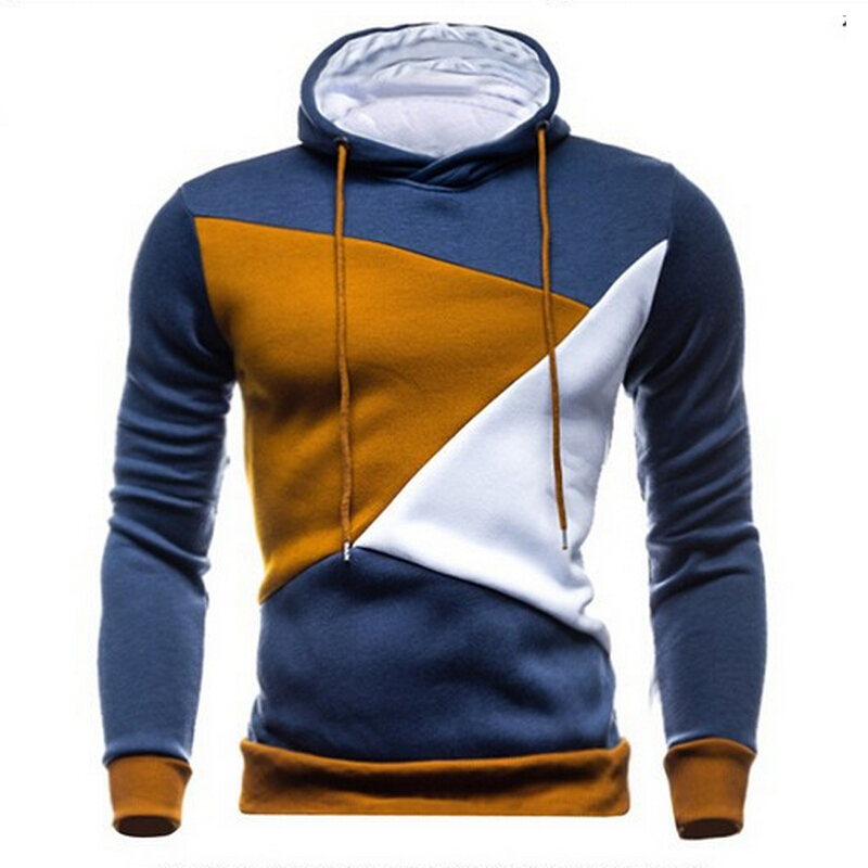 Section 2015 in the spring and autumn winter men's fleece quality fashion bump color cotton fleece hooded men's fleece - M - XXL(China (Mainland))