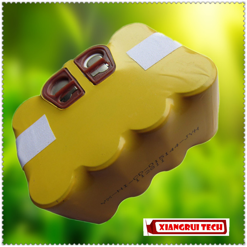 14.4V 3000mAh NI-CD Rechargeable Robot Vacuum Cleaner Battery For KV8 XR210 Series(China (Mainland))