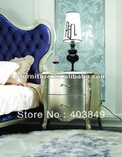 High end neoclassical bedside tables NC120102Nightstands(China (Mainland))