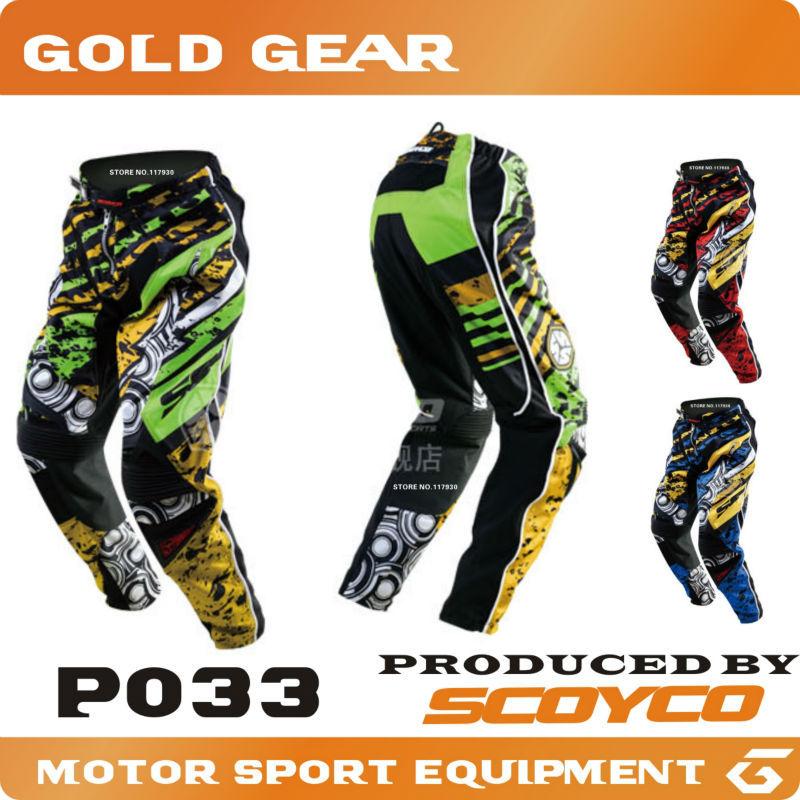 Protective Gears>>Pants Scoyco Motocross Pants, Motorbike Motorcycle Pants, ATV, Off Road Trousers, BMX Motorcycle Racing Pants(China (Mainland))