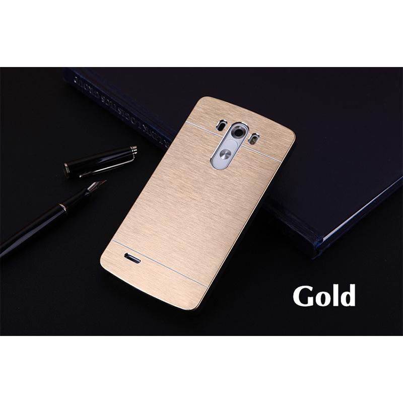 Aluminium Metal case For LG G2 G3 G3mini G4 G4 stylus G5 model phone case Luxury Brushed Hard Back Cover Shell free shippin(China (Mainland))