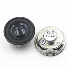 10 Envío Gratis negro amplificador de altavoces 3 W 4R 3 vatios 4 ohmios altavoz mini trompeta laterales de goma especial