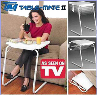 Observing folding TV table / laptop bed table / folding computer desk(China (Mainland))