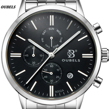 Buy OUBELS Male Clock Waterproof Quartz Watches Men's Watch Chronograph Top Brand Luxury Military Sport Wristwatch Relogio masculino for $16.84 in AliExpress store