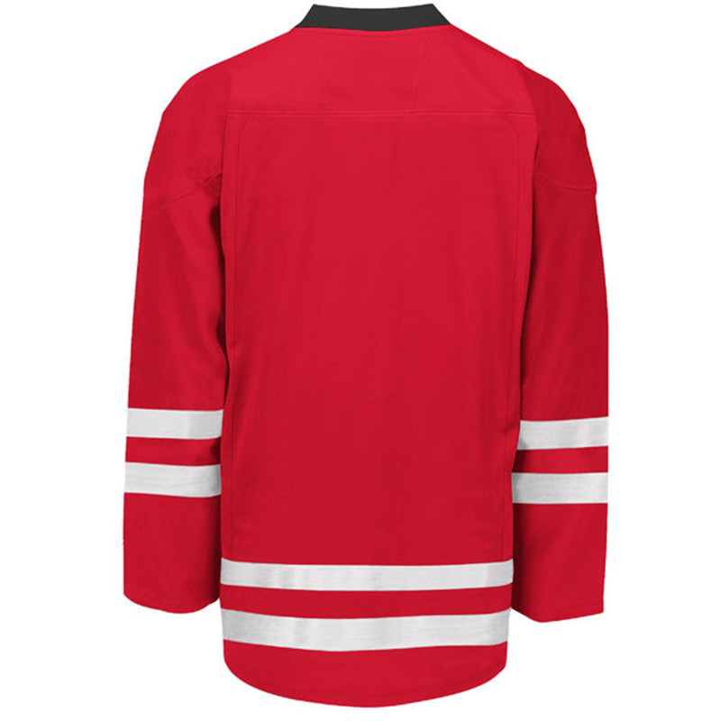 MEN/WOMEN/YOUTH CUSTOM MADE HOCKEY JERSEY COLOR RED WHITE SIZE S-5XL(China (Mainland))