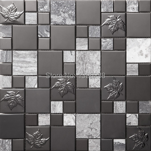 Acquista all'ingrosso online mosaic black tiles da grossisti ...