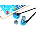 2016 hot SE215 Wired 3 5MM Hifi Stereo Noise Cancelling Bass Headphones Headsets Fone De Ouvido