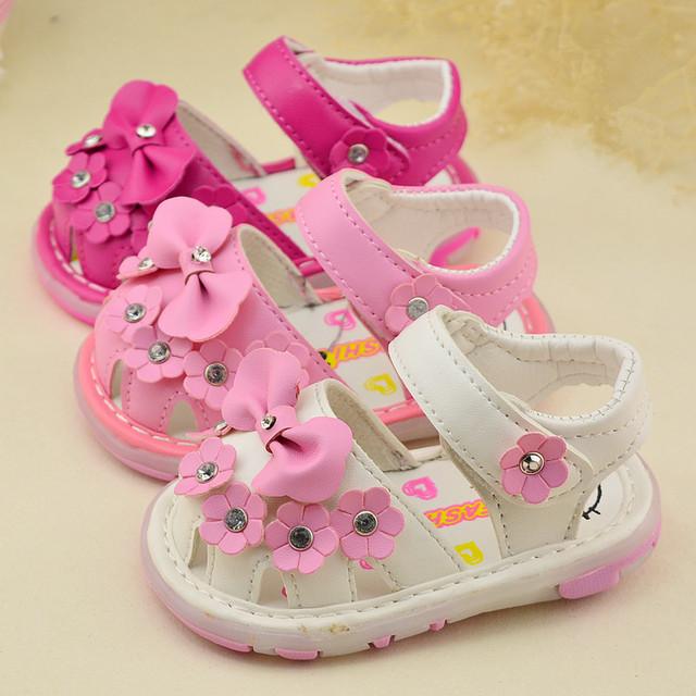 2016 из светодиодов огни от 0 до 24 месяцев бантом новорожденных девочек малыша обувь ...