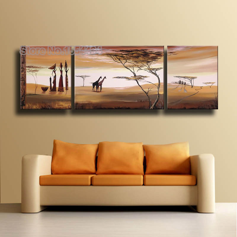 African wall paintings images for African wall art