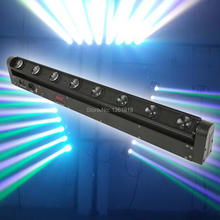 Buy stage light 8*12w beam RGBW Led Beam Bar Washer Light LED Beam Bar Moving Head Light DMX 512,9/38Channel DJ Show for $150.00 in AliExpress store