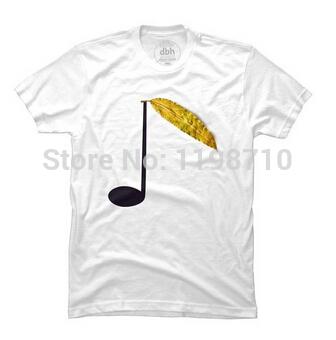 Natural Music Men's T-shirt ( Free Shipping) Free Shipping(China (Mainland))