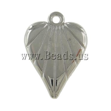 !!Copper Coated Plastic Pendant,Jewellery, 14x21x4mm, Hole:Approx 2mm, 5Bags/Lot, 500PCs/Ba Sold Lot