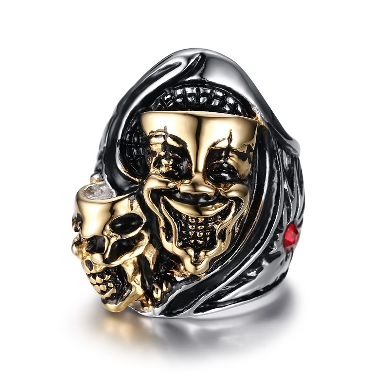 2016 Time-limited Bridal Sets Classic Men New Products On The Market Wind Ring Men's Rings Skull Jewelry Wholesale Rc - 177(China (Mainland))