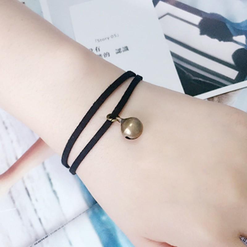 SL166-Vintage-Bracelets-Bangles-Gothic-Black-Velvet-Suede-Leather-Pulseiras-Women-Multilayer-Bracelet-Jewelry-one-direction