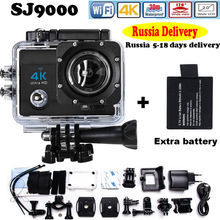 "Buy Russia Delivery Add Two Battery Action Camera go style pro 4 Ultra HD 4K@30FPS DVR 16MP 2.0""LCD waterproof 30M Action Cam for $40.10 in AliExpress store"