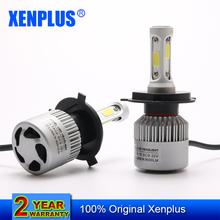 Buy Xenplus E2 H4 H7 H13 H11 H1 9005 9006 H3 9004 9007 9012 COB LED Headlight 72W 8000LM Car LED Headlights Bulb Fog Light 6500K 12V for $35.00 in AliExpress store