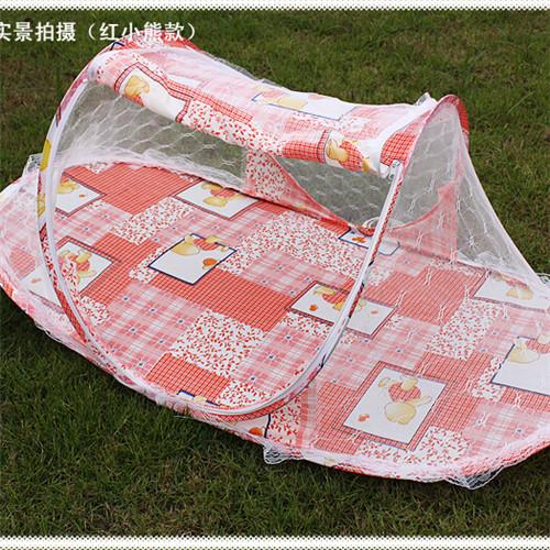 Портативный кроватки новое поступление портативный детская кроватка сетки кровать детская кровать складной москитная сетка младенческая подушка матрас