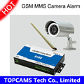 GSM MMS camera controller S180 remote switch PIR motion detector with IP alarm camera by SMS