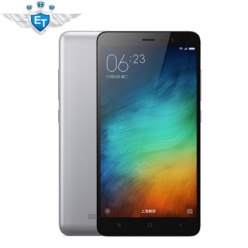 Original Xiaomi Redmi Note 3 Pro 4G LTE Cell Phone Snapdragon 650 Hexa Core Fingerprint Metal Body 2GB RAM 5.5 inch 4000mAh 16MP(China (Mainland))