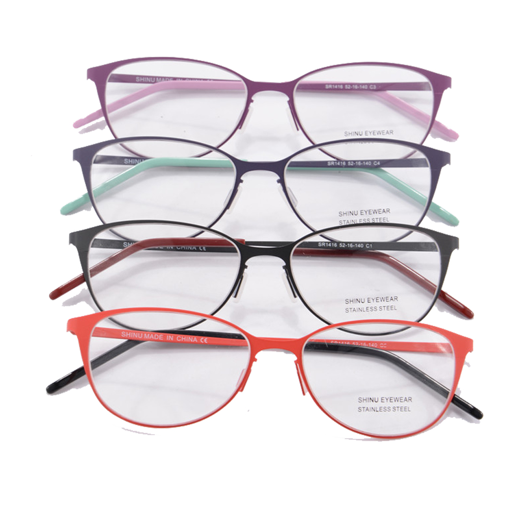 4 colors eye glasses frames for women sport frame women ...