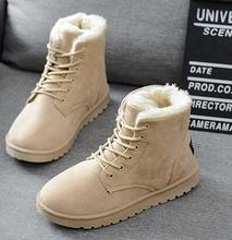 Buy Botas femininas women boots 2016 new arrival women winter boots warm snow boots fashion platform shoes women fashion ankle boots for $13.67 in AliExpress store