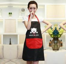 Korean Fashion Cotton Sleeveless Cotton Kitchen Aprons Nail Cafe Hotel Uniforms Overalls Men and Women B184(China (Mainland))