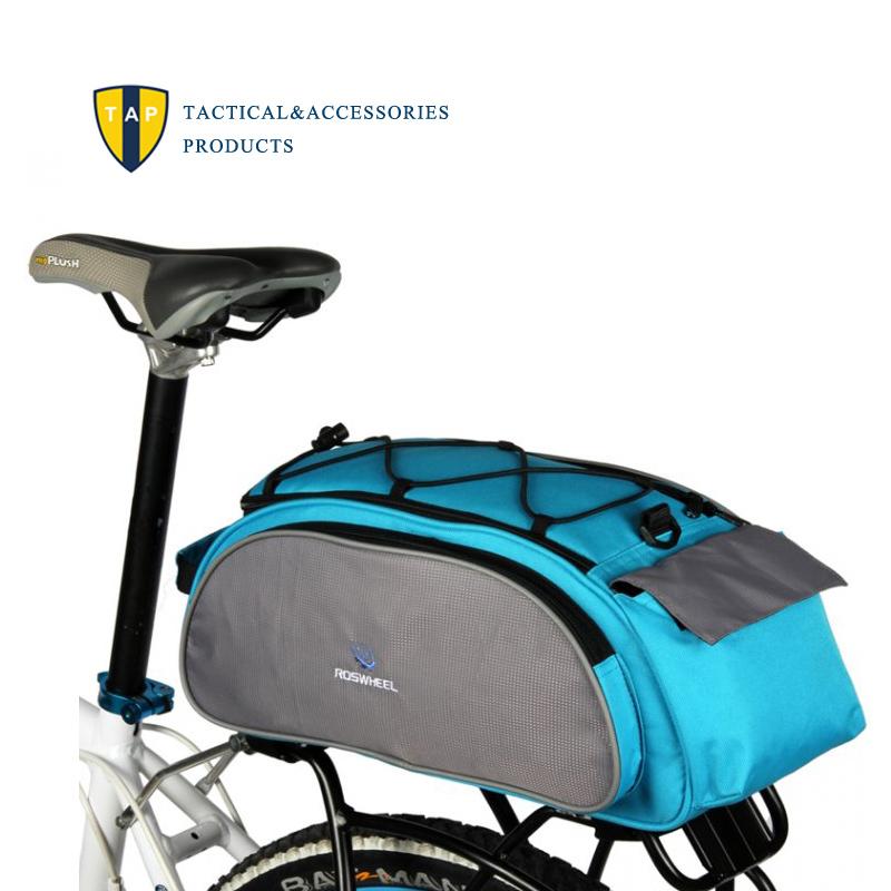 New Mountain Road MTB Bike Bicycle Back Panniers Rear Seat Pack Bag Cycling Rack Trunk Carrier Shoulder Handbag Messenger 13L<br><br>Aliexpress