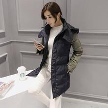 Women down goose jacket long warm coats female down jacket women winter clothing thick parka overcoat large size down coat TT218